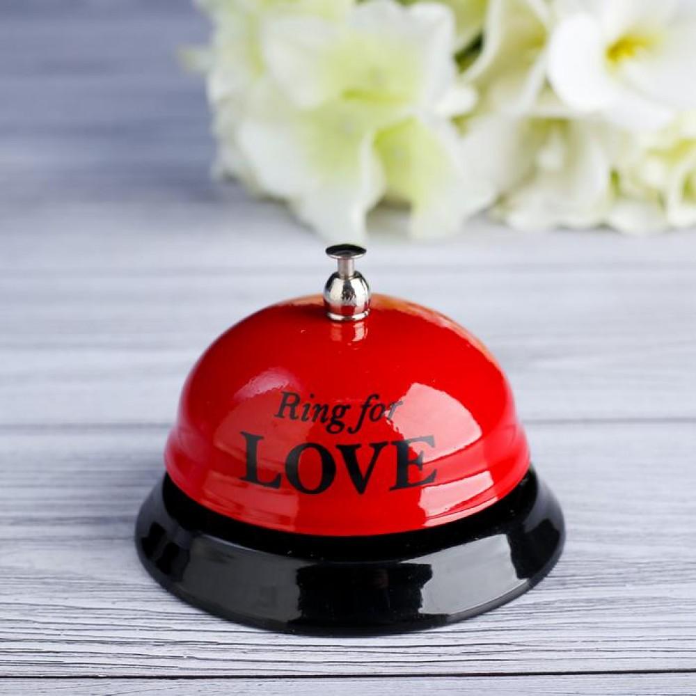 """Звонок настольный """"Ring for love"""""""