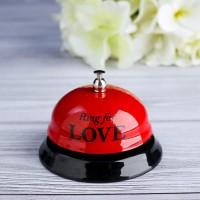 Звонок настольный «Ring for love»