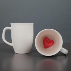 Кружка с сердцем внутри 300 мл