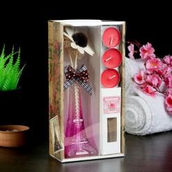 Набор «Эйфелева башня» с ароматом розы