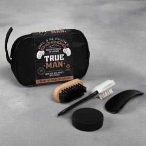 Набор дорожный для обуви «True man»
