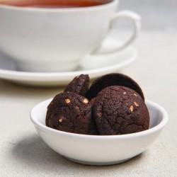 Подарочный набор «Расцветай от счастья»: чай, печенье брауни, конфеты