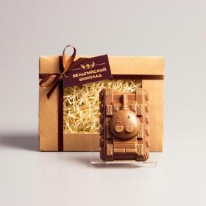 Шоколадная фигурка Танк, 80 г