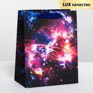 Пакет подарочный «Космос» 18 х 23 × 10 см