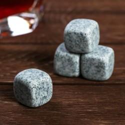 Камни для виски «Как камень с души» 4 шт