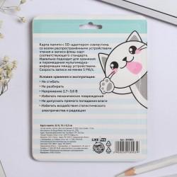 Карта памяти «32 гб милых котиков» 32 Гб