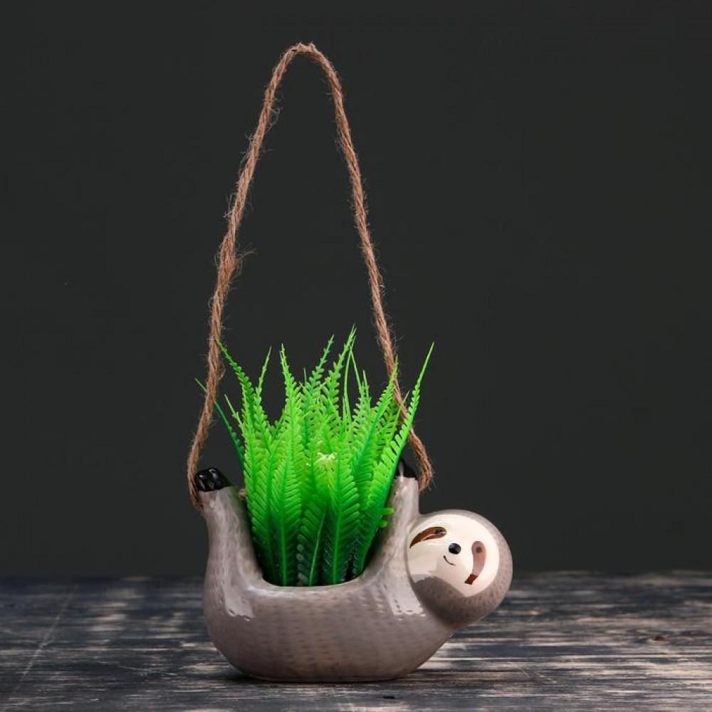 Кашпо подвесное «Ленивец»