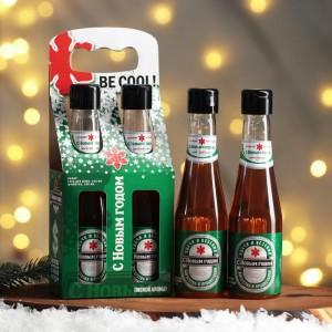 Подарочный набор «С Новым годом, be cool»: гель для душа, шампунь
