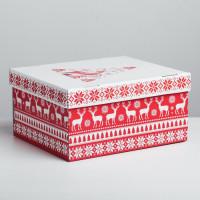 Подарочная коробка «Скандинавия», 31,2 × 25,6 × 16,1 см