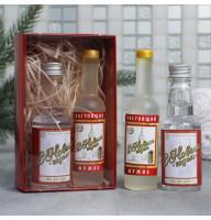 Набор «С Новым годом» гель для душа и мыло в форме водки