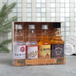 Новогодний набор гелей в мини бутылочках