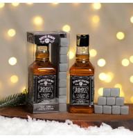 Подарочный набор «Крутой мужик» гель для душа, мыло камни для виски