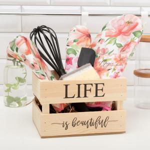 Кухонный набор в ящике «Life is beautiful»