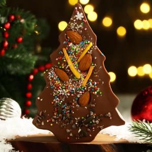 Шоколад фигурный «Елочка» 15 см