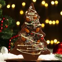 Шоколад фигурный «Елочка» 20 см